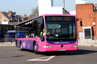 Route 602, Uno Bus, MB322, BF59NJO, St Albans