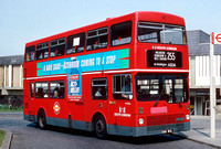 Route 255, South London Buses, M1086, B86WUL
