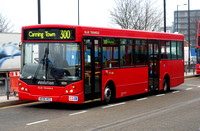 Route 300, Go Ahead London, ED5, AE06HCG, Canning Town