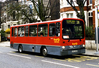 Route 28, First London, DW25, JDZ2325, West Hampstead