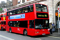Route 185, East Thames Buses, VP18, X171FBB, Victoria