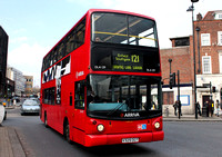 Route 121, Arriva London, DLA129, V329DGT, Wood Green
