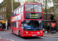 Route 387, East London ELBG 17888, LX03OPW, Barking
