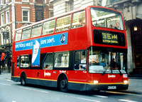 Route N44, London General, PVL58, W458WGH, Whitehall