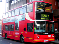 Route 2, Arriva London, DLA213, W413VGJ, West Norwood