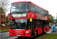 Route 691, London United RATP, SP61, YT09ZCL