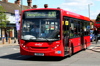 Route R70, Abellio London 8533, YX10FEK, Fulwell