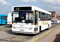 Route 210, Autocar, P293MLD, Tonbridge