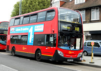 Route 118, Go Ahead London, E140, SN60BZM, Mitcham