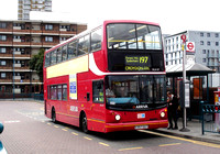 Route 197, Arriva London, DLA157, W357DGT, Peckham