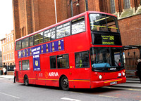 Route 250, Arriva London, DLA7, S207JUA, Croydon