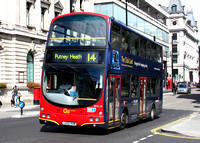 Route 14, Go Ahead London, WVL14, LG02KHM, Pall Mall