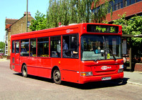 Route 354, Metrobus 343, W343VGX, Bromley