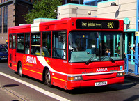 Route 450, Arriva London, PDL55, LJ51DBV, Croydon