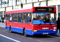 Route 214, Metroline, DLD124, V124GBY, King's Cross