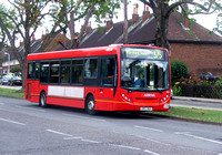 Route 375, Arriva Southend 3998, GN57BOV, North Romford