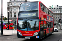 Route 24, Go Ahead London, E7, SN06BNK, Trafalgar Square