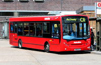 Route C11, Metroline, DE1031, LK59AVV, Brent Cross