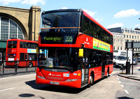 Route 205, East London ELBG 15102, LX09FYY, King's Cross