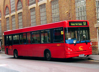 Route 153, CT Plus, HDC7, X591ORV, Liverpool Street