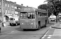 Route 80A, London Transport, RF345, MLL982, Sutton