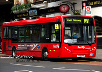 Route RV1, First London, DML44155, YX10BFV, Waterloo