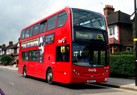 Route E3, First London, DN33588, SN09CEY, Acton Town