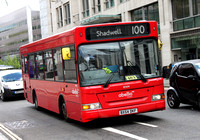 Route 100, Abellio London 8304, BX54DKF, St Pauls Station