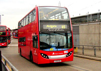 Route 115, East London ELBG  18500, LX55HGC, Canning Town