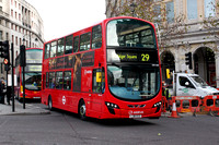 Route 29, Arriva London, DW468, LJ61CCZ, Trafalgar Square
