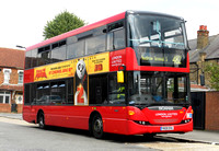 Route 482, London United RATP, SP17, YN08DHA, Southall