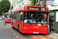 Route 339, First London, DMC41499, LK03LNV, Mile End
