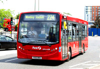 Route 224, First London, DML44218, YX12DKU, Alperton