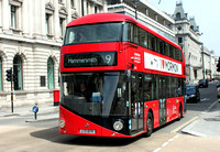 Route 9, London United RATP, LT75, LTZ1075, Pall Mall