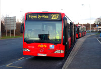 Route 207, First London, EA11040, LK54FKX, Hayes By Pass