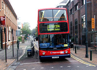 Route 374, Stagecoach London 17992s, LX53KBZ, Romford Station