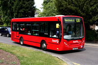 Route E10, First London, DMS44406, YX09FMG