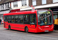 Route 256, Arriva Southend 4001, GN08CGU, Hornchurch