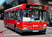 Route 239, London General, LDP215, SK52MOF, Vauxhall