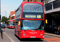 Route 681: Hounslow, Bus Station - Teddington Schools