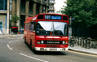 Route 509: Liverpool Street - Oxford Circus [Withdrawn]