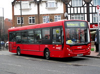 Route 152, Abellio London 8520, YX59BYN, Mitcham