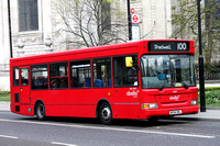 Route 100, Abellio London 8307, BX54DKL, St Pauls