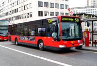 Route 521, Go Ahead London, MEC28, BD09ZVT, Waterloo Bridge