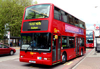 Route 476, Go Ahead London, PDN3, LN51GKD, Tottenham