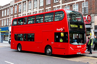 Route 365, First London, DN33544, SN58CFK, Gants Hill