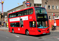 Route 222, London United RATP, ADE16, YX12FNY, Hounslow