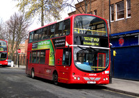 Route W3, Arriva London, VLW51, WLT751, Finsbury Park