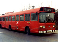 Route 12A, London Transport, LS71, OJD871R, Norwood Junction