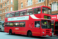Route 24, Arriva London 136, F136PHM, Victoria